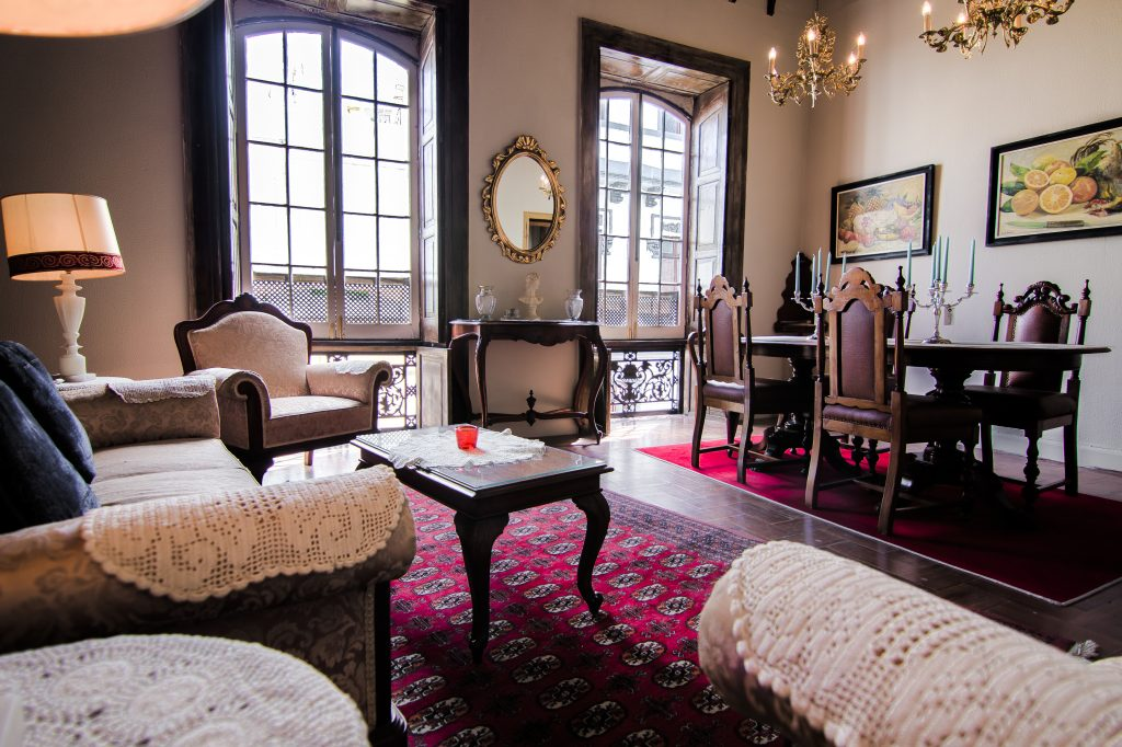 Period room full of elegance Boutique hotel